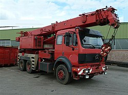 Mercedes SK Chassis 2631, 6x4